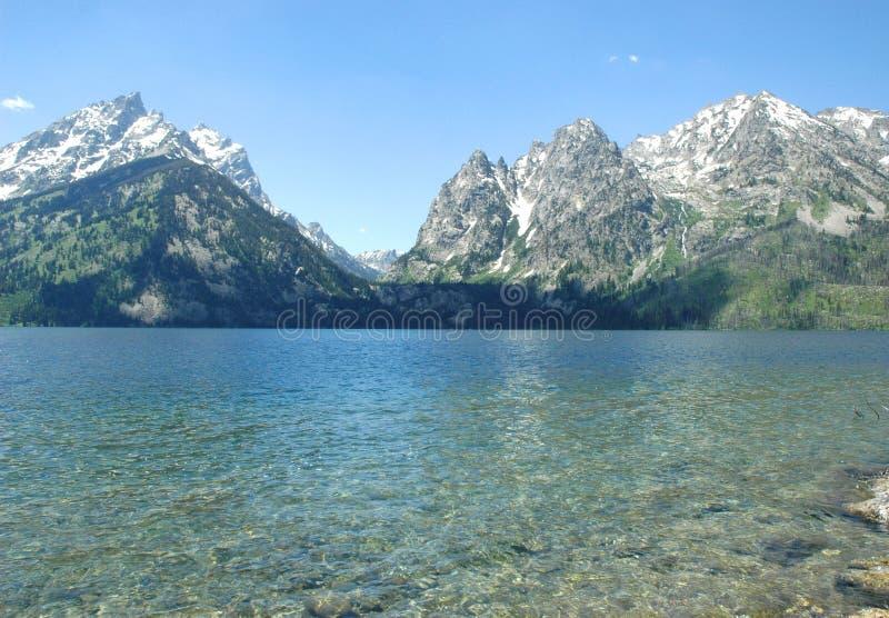 Yellowstone Lake royalty free stock photos