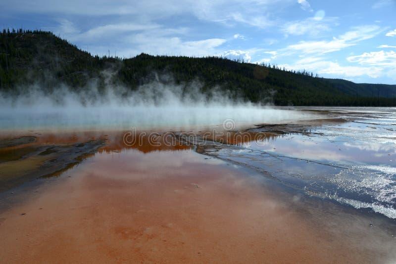 yellowstone nationaal park, Wyoming royalty-vrije stock fotografie