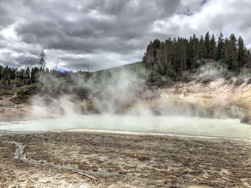 Yellowstone Nationalpark lizenzfreies stockbild