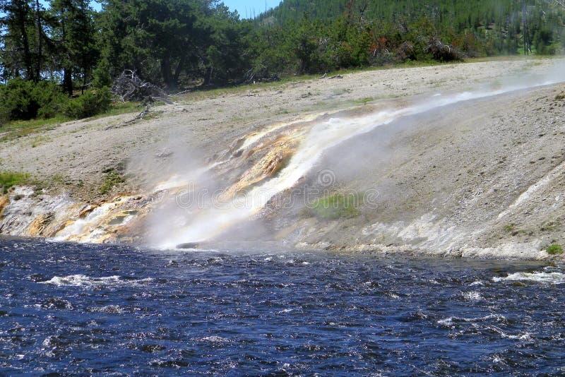 Yellowstone Nationalpark Geysire 17 lizenzfreies stockbild