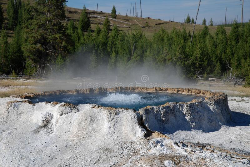 Yellowstone Nationalpark, USA lizenzfreies stockfoto