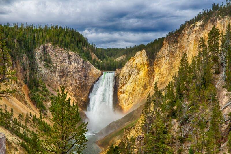 Yellowstone park narodowy zdjęcie stock