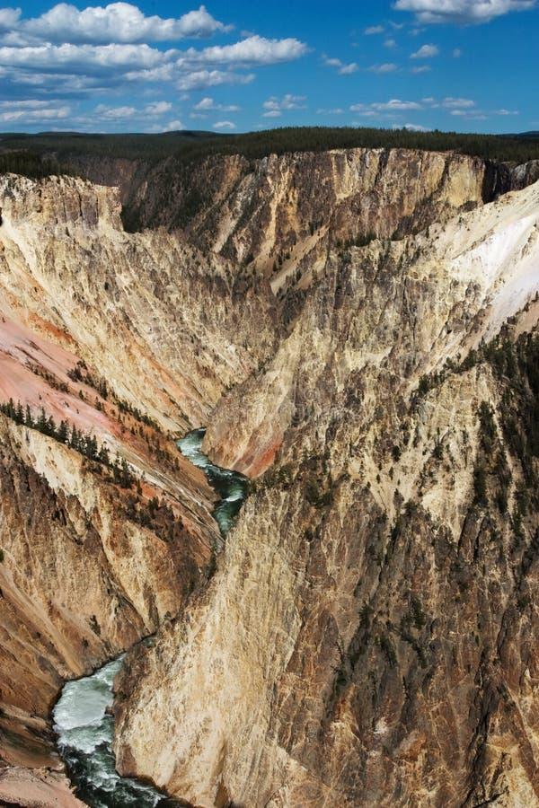 Yellowstone River royalty free stock image