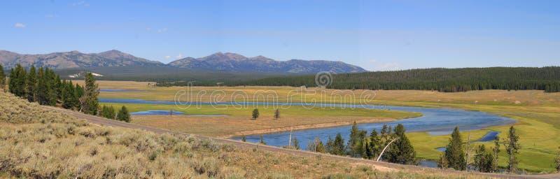 Yellowstone River royalty free stock photos