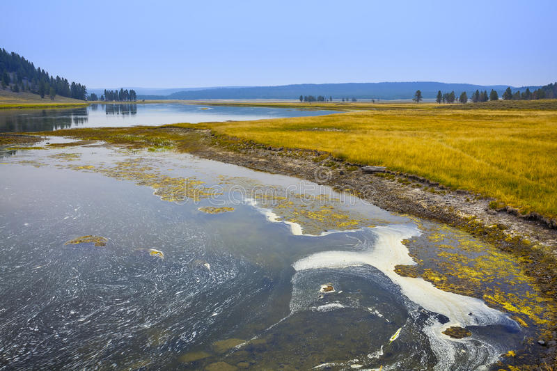 Download Yellowstone river stock photo. Image of autumn, famous - 26804664