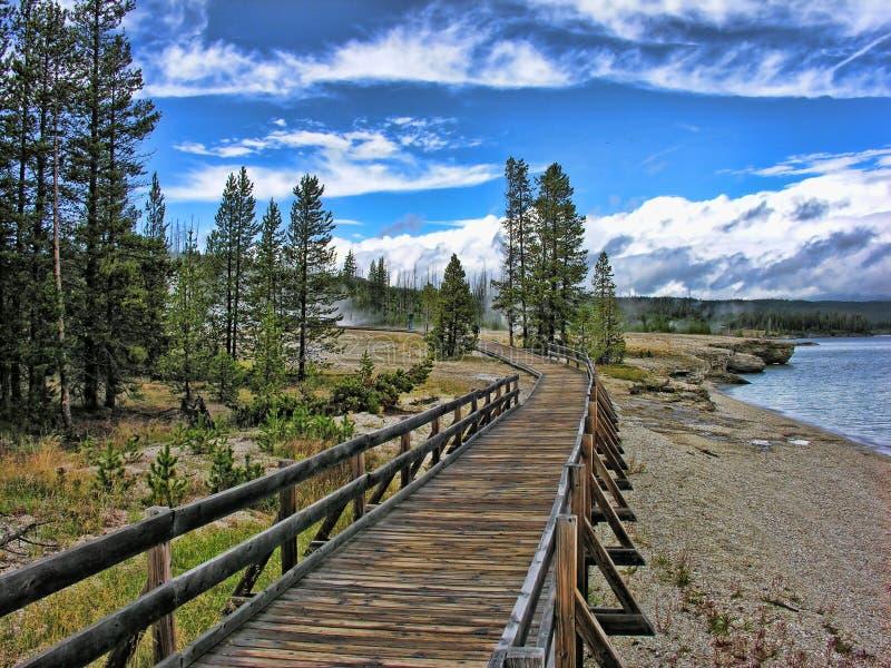 Yellowstone, Wyoming στοκ φωτογραφία