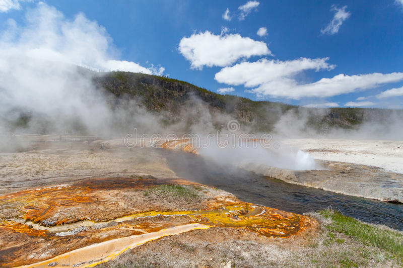 Yellowstone, Wyoming, USA. Yellowstone Wyoming USA stock photography