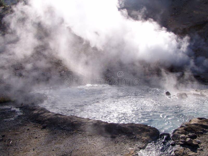 Download YellowstonePool fotografia stock. Immagine di geologia - 220802