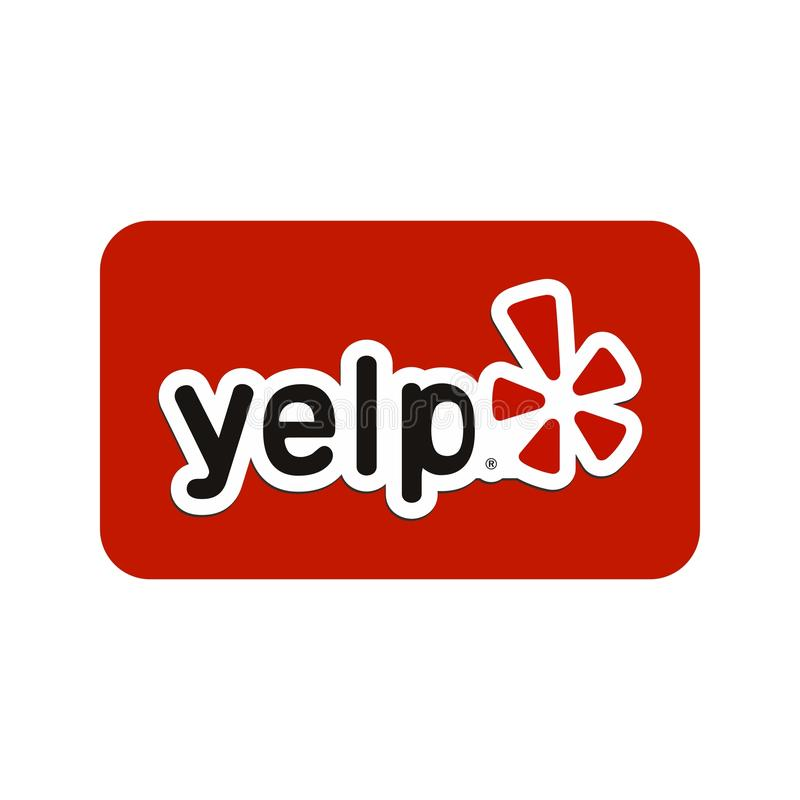yelp illustrazione vettoriale