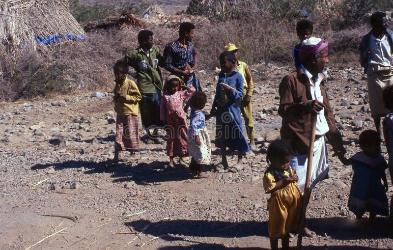 1996-Yemen people royalty free stock image