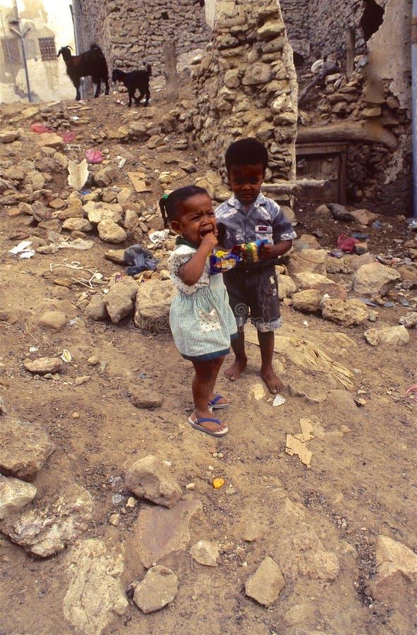 1996-Yemen people royalty free stock photo