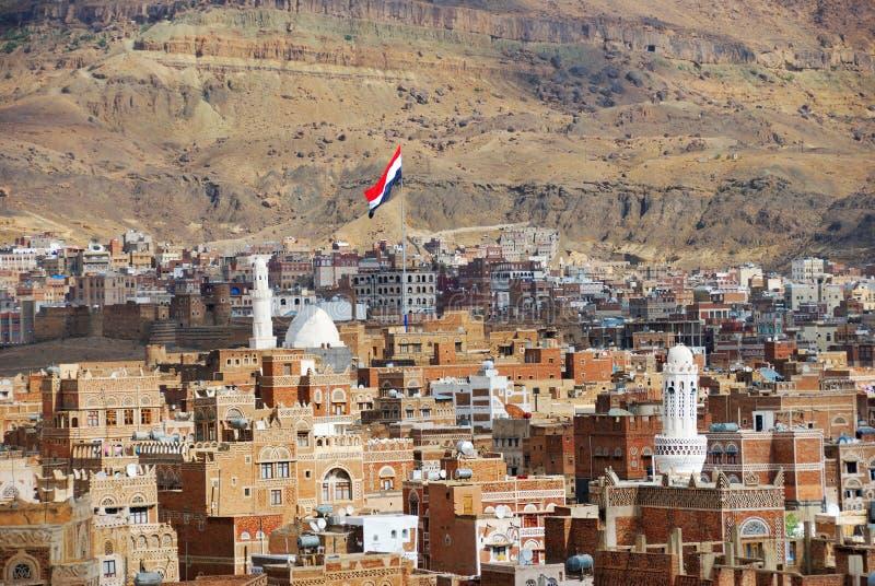 yemen Sanaa stockfotografie