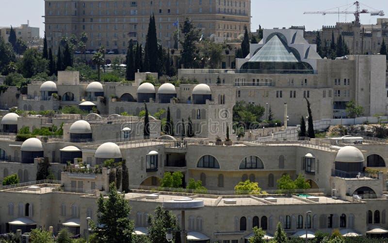 Yemin Moshe, Jerusalem stockfotografie
