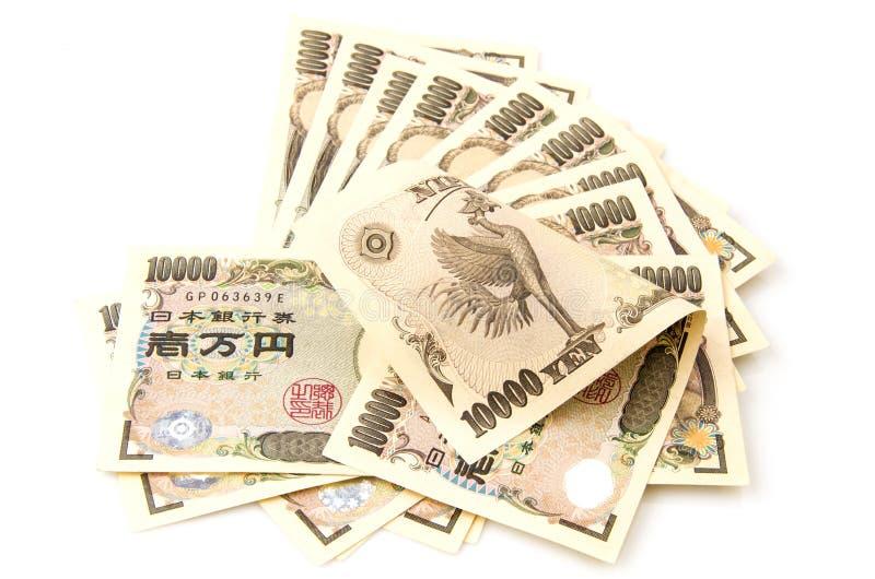 Yen royaltyfri foto