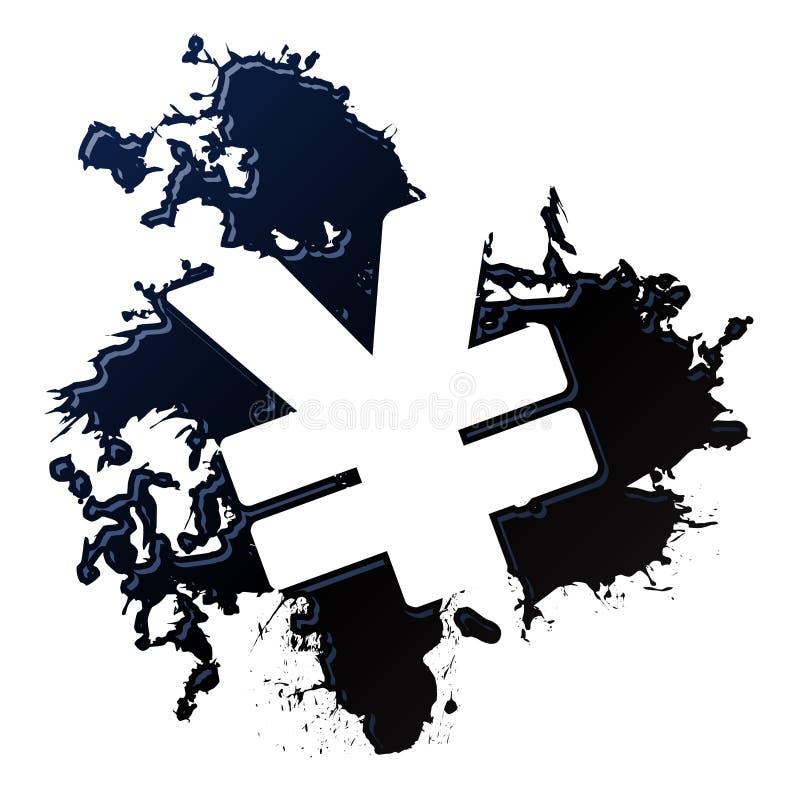 Yenes del derramamiento de petróleo libre illustration