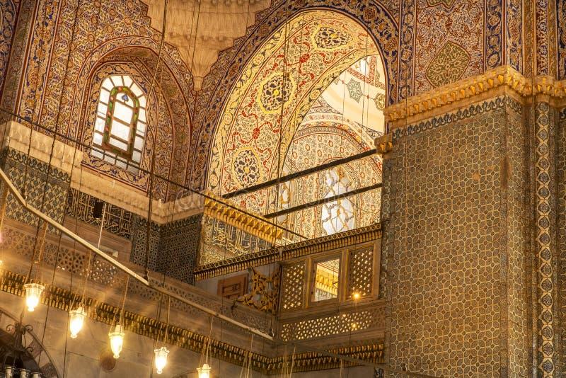 Yeni Cami (mesquita nova) Istambul imagem de stock royalty free