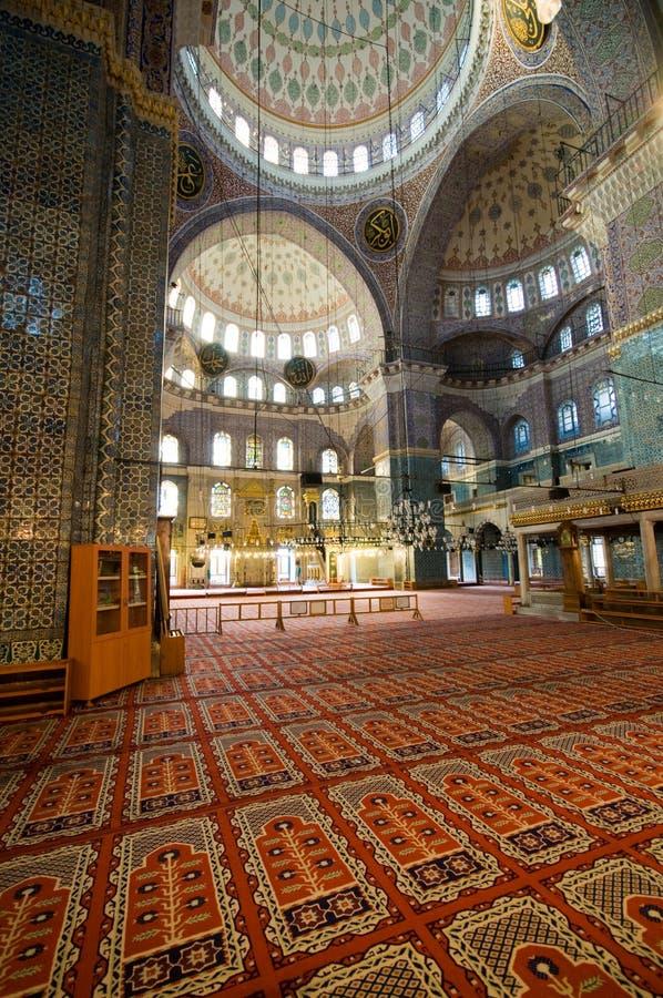 Yeni Cami (Nieuwe Moskee) in Istanboel, Turkije stock fotografie