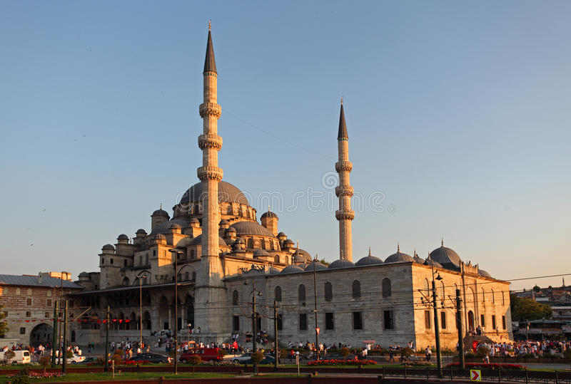 Yeni Camii, Istambul - Turquia fotos de stock royalty free