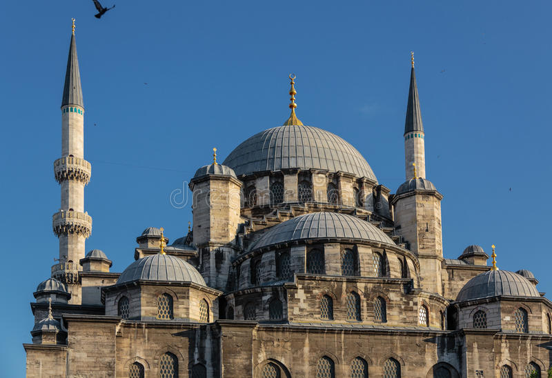 Yeni Camii (mesquita nova) - Istambul fotografia de stock royalty free