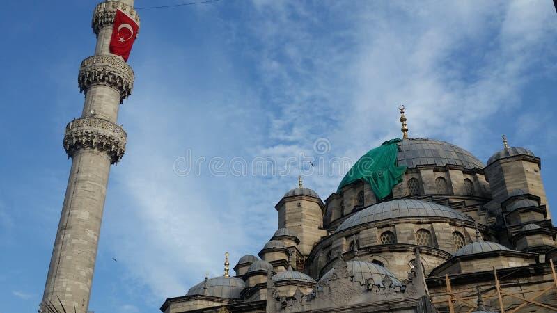 Yeni Camii /mosque royalty-vrije stock afbeeldingen