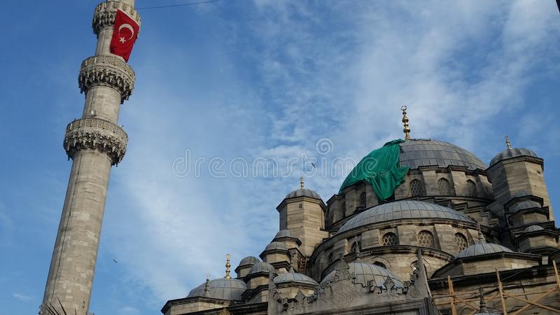 Yeni Camii/mosque royalty free stock images