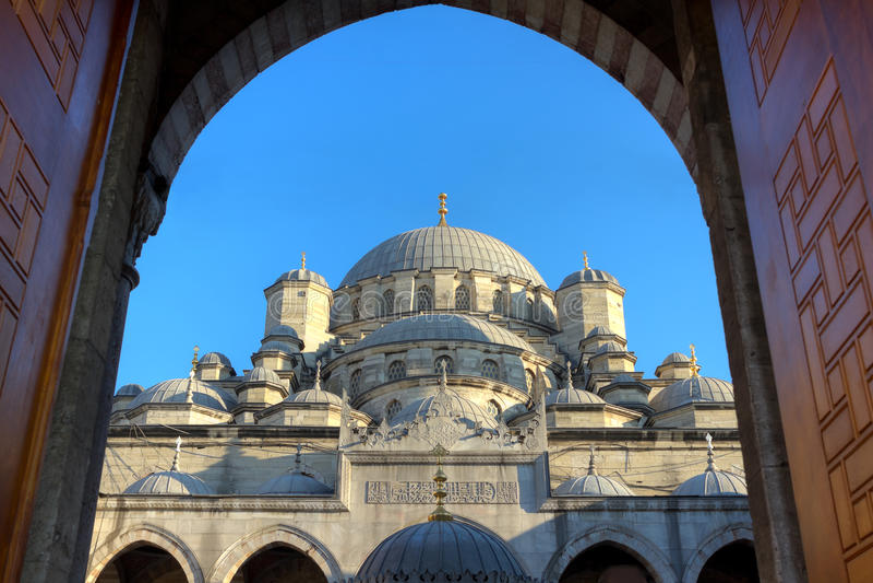 Yeni Mosque, Istambul fotografia de stock