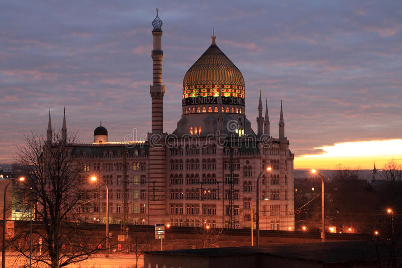 Yenidze à Dresde image stock