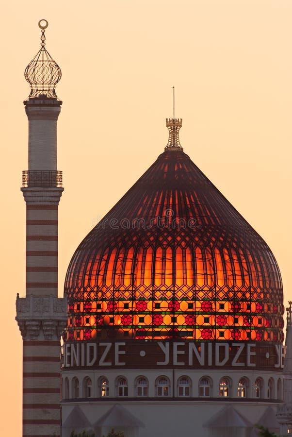 Yenidze i Dresden arkivbild