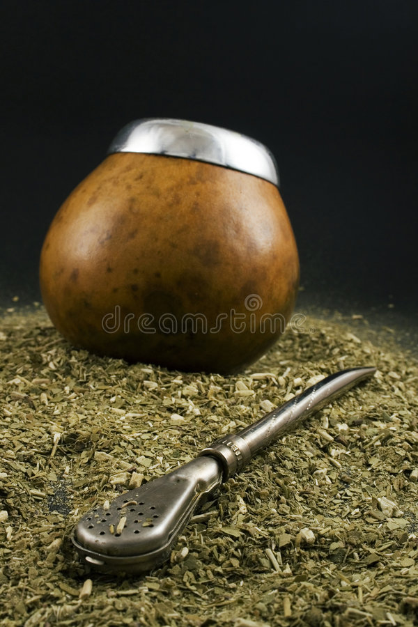 Yerba mate stock images