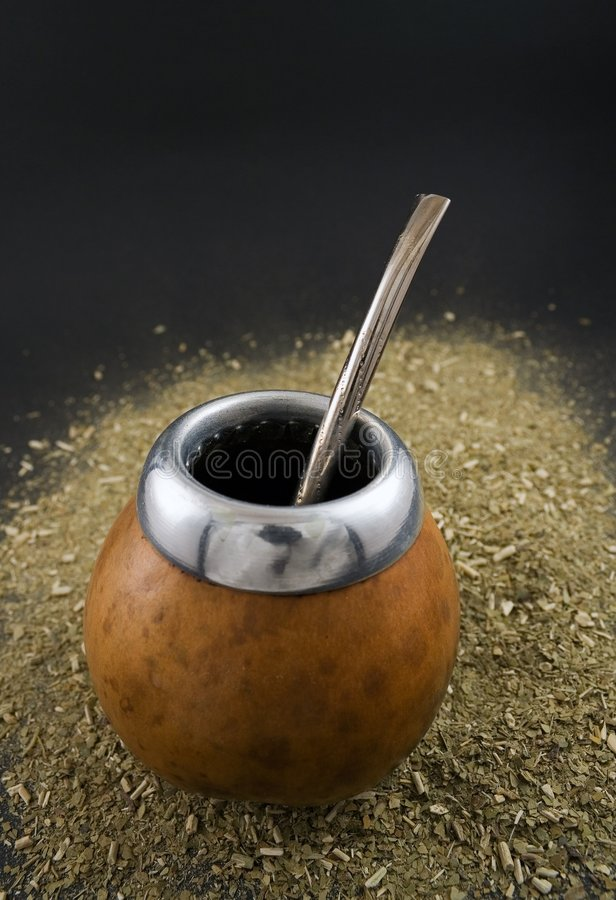 Yerba mate royalty free stock images