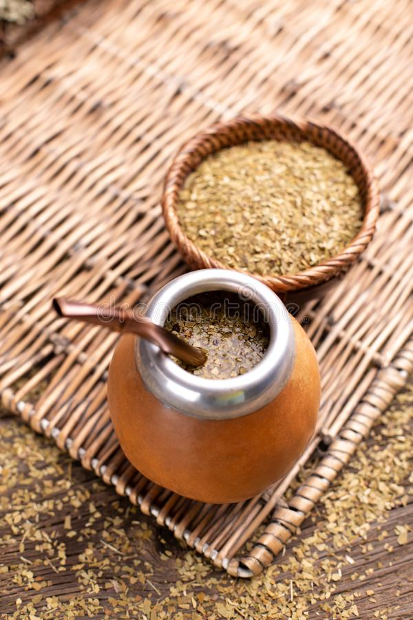 Yerba Mate Tea photo libre de droits