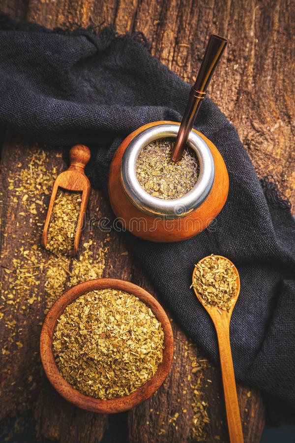 Yerba Mate Tea photographie stock