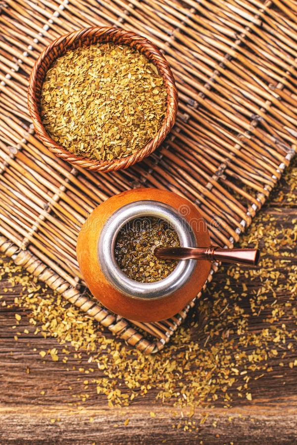 Yerba Mate Tea images stock