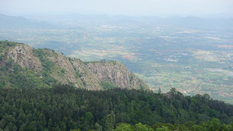 Yercaud Pagoda point stock photos