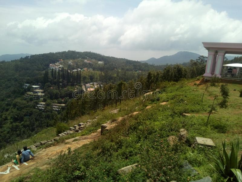 Yercaud wzgórza stacja jest jeden odwiedzone wzgórze stacje w tamil nadu zdjęcie stock