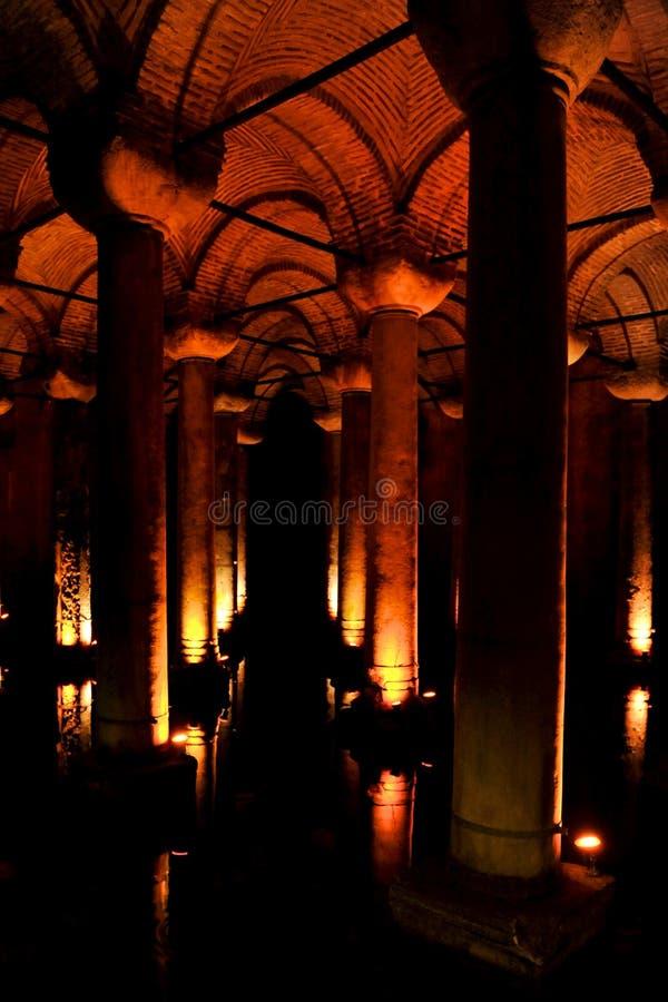 Yerebatan Sarnıcı Istanbul royalty free stock photo
