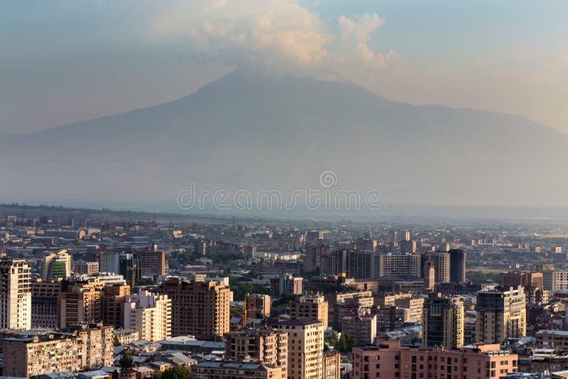 Yereva, Ararat foto de archivo