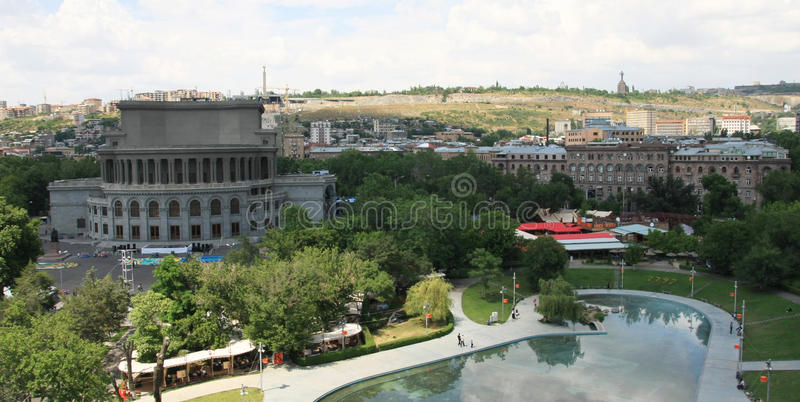 Yerevan, Armenia. stock photo