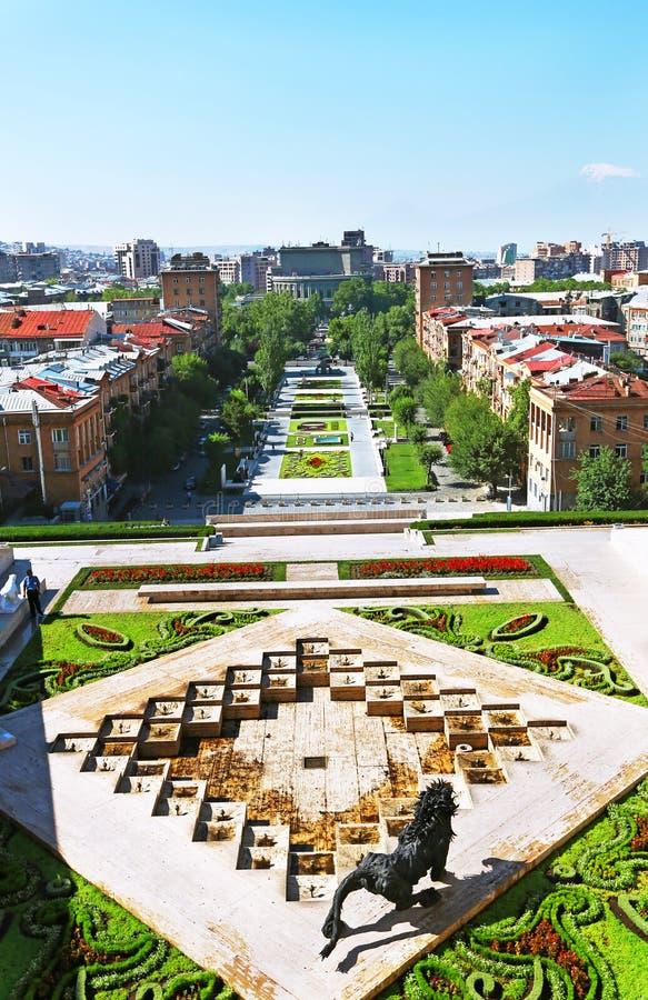 Yerevan city royalty free stock photography