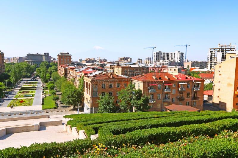 Yerevan city royalty free stock photos