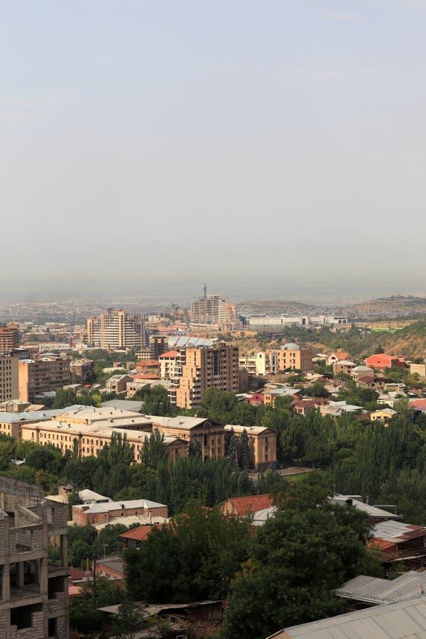 Yerevan ist Kapital von Armenien lizenzfreie stockbilder