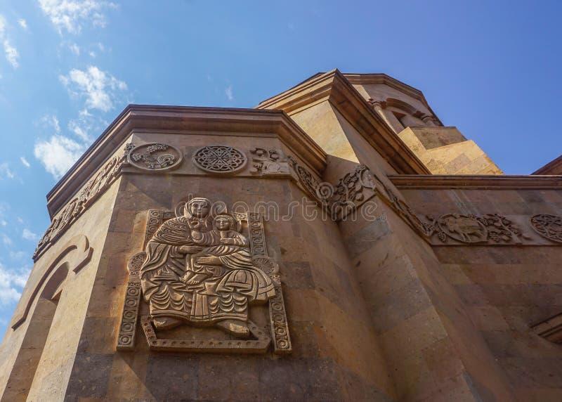 Yerevan Kathoghike Kościelna Święta matka bóg obrazy royalty free