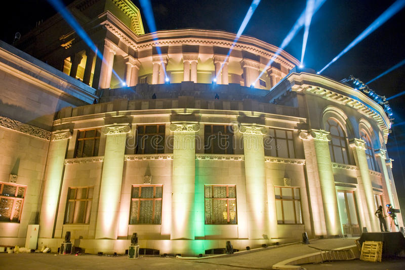 Yerevan opera theatre royalty free stock photography
