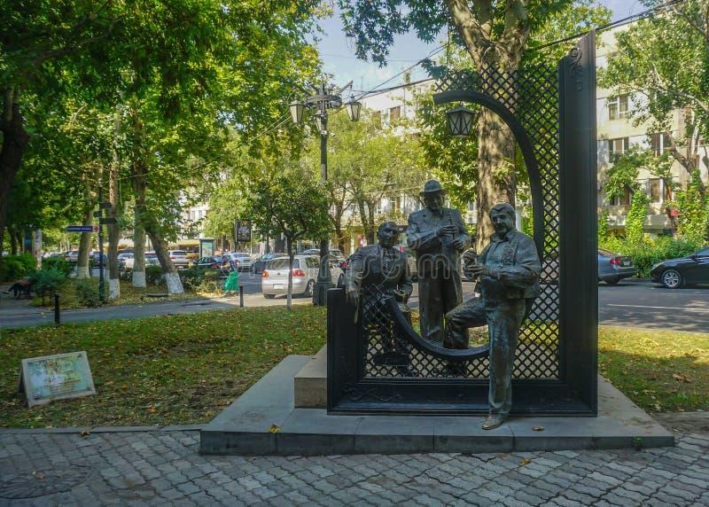 Yerevan Parkstandbeeld stock fotografie