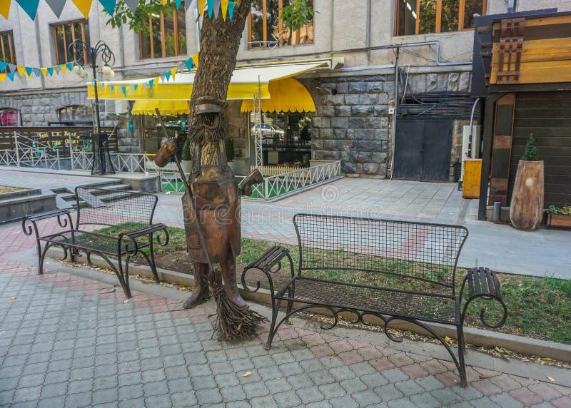 Yerevan Street Art arkivbild