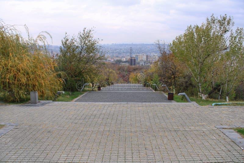 Yerevan Volkerenmoord Complexe mening stock afbeeldingen