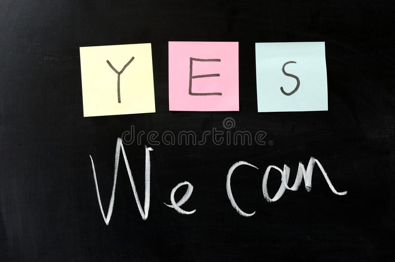 Download Yes We Can Royalty Free Stock Image - Image: 22786666