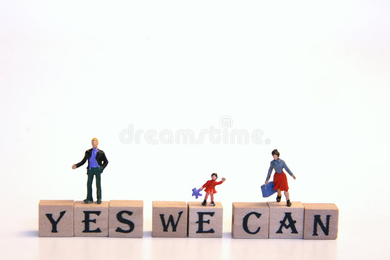 Download Yes we can stock image. Image of feelings, decisions, able - 7525699
