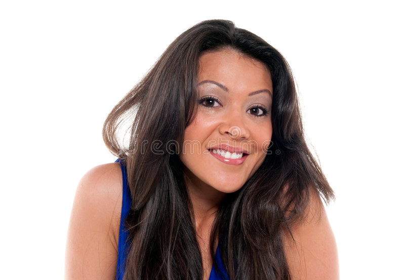 Download Yes I am Happy stock photo. Image of facial, happiness - 8566928