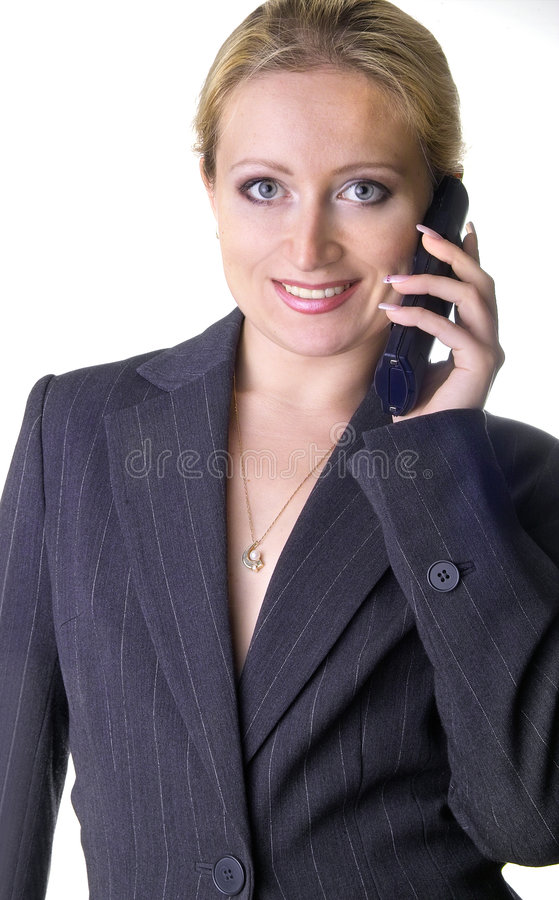 Download Yes, I am listening stock photo. Image of communications - 192484